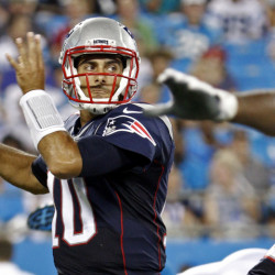 After two years as a backup QB to Tom Brady, Jimmy Garoppolo is the Patriots starter with Brady serving a suspension.