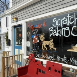 Scratch Baking Co.'s Willard Square store in South Portland will close for a week starting Sept 6. John Patriquin/Staff Photographer