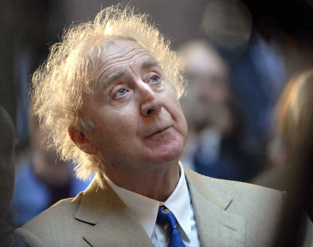 """Gene Wilder was nominated for an Oscar twice: as Supporting Actor in """"The Producers"""" and as a """"Young Frankenstein"""" co-writer."""