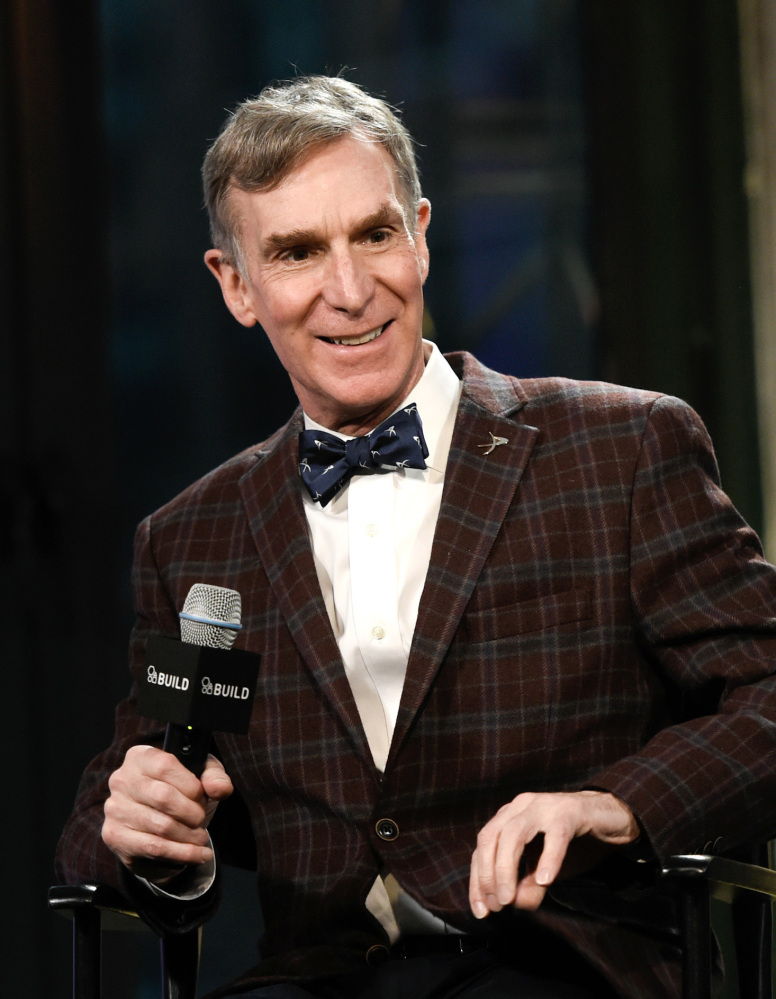 Bill Nye talks about his book,