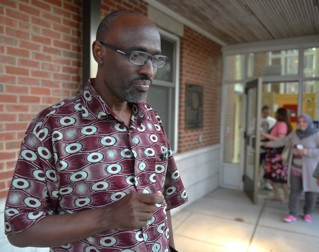 """Claude Rwaganje, who came to the United States from the Democratic Republic of Congo 20 years ago and now owns a house in Westbrook, said about a community meeting last week: """"I don't want to assume that everything is fine because we talked. What I heard in the room is, be open-minded to report."""""""