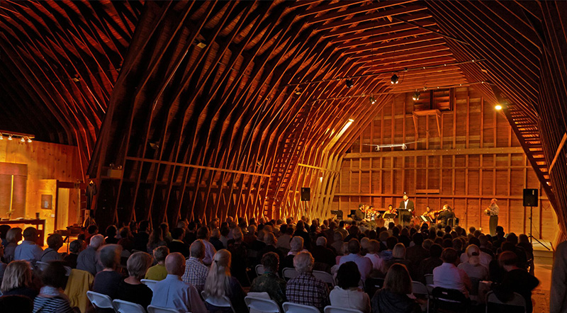 Salt Bay Chamberfest at Darrows Barn in Damariscotta.