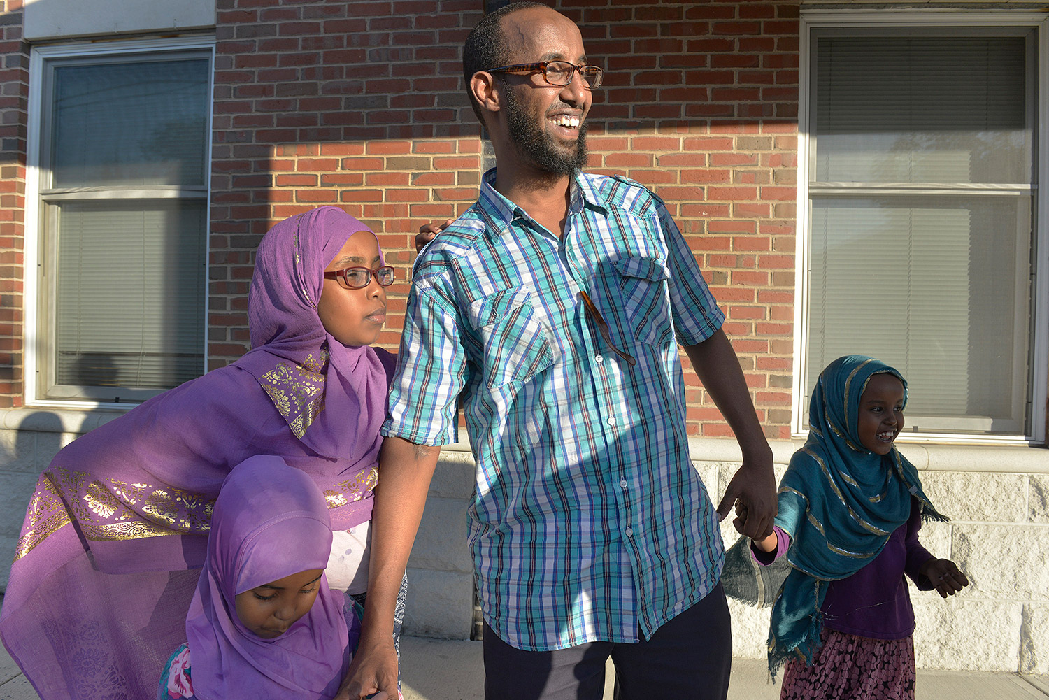 """Mahmoud Hassan, who is president of the Somali Community Center of Maine, said, """"We do feel responsibility to our community and the community at large. When we see a problem, we report it."""""""