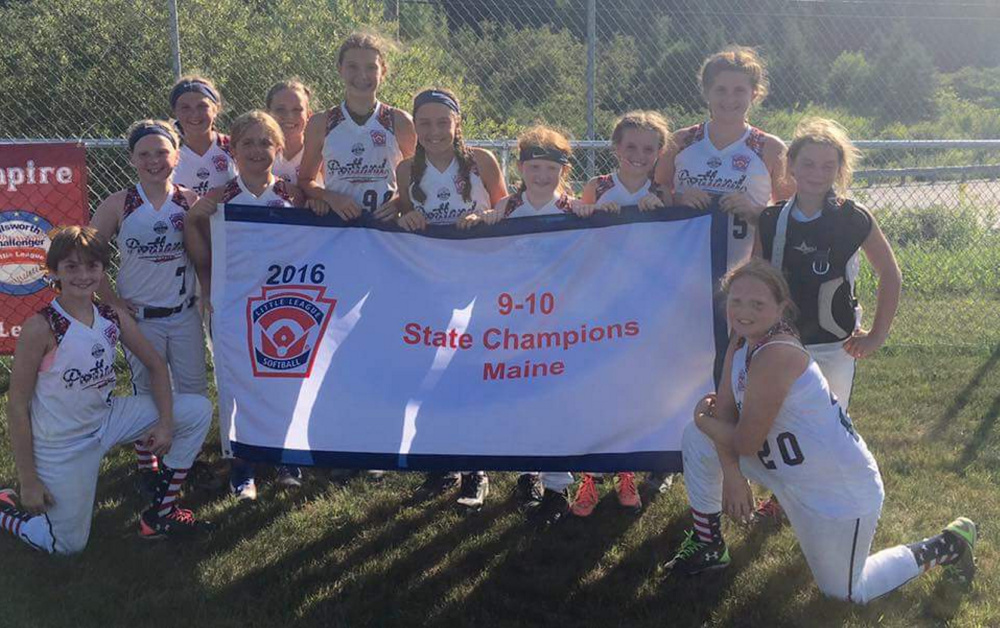 Portland Little League won the softball state championship for 9- and 10-year-olds and will play in the Eastern Regional starting Friday in Pittston, Pennsylvania.