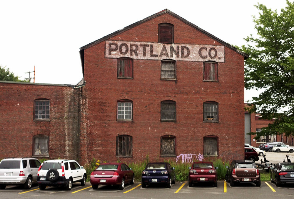 This 120-year-old brick building targeted for relocation on the former Portland Co. complex used to be known as the Pattern Storehouse. Built in 1895, it was located away from the core of railroad foundry buildings because of the flammable materials stored there.