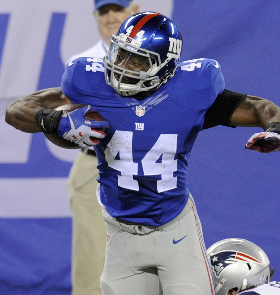 Andre Williams is a returning veteran at running back for the Giants, who turned to their passing game for points last season.