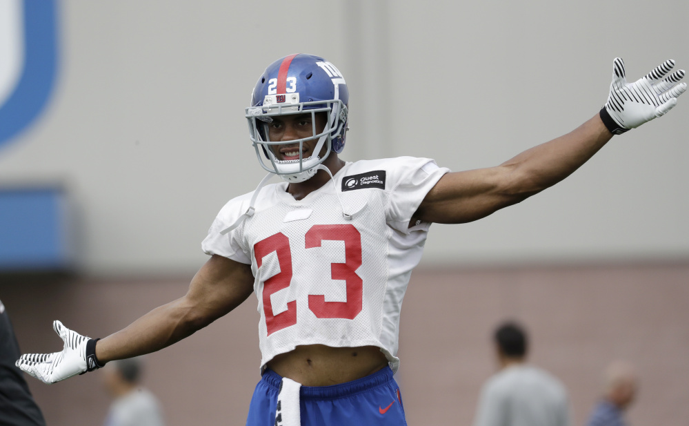 Rashad Jennings, who emerged as one of the Giants top runners last season, said he isn't concerned with having so many running backs competing in New York's training camp.