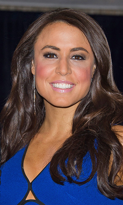 Andrea Tantaros attends the White House Correspondents' Dinner in April 2015 in Washington. Charles Sykes/Invision/AP