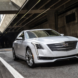 The 2016 Cadillac CT6 is built on an 8-inch longer wheelbase than the XTS and is 9 inches longer and 2 inches wider. (Jim Fets/Cadillac)