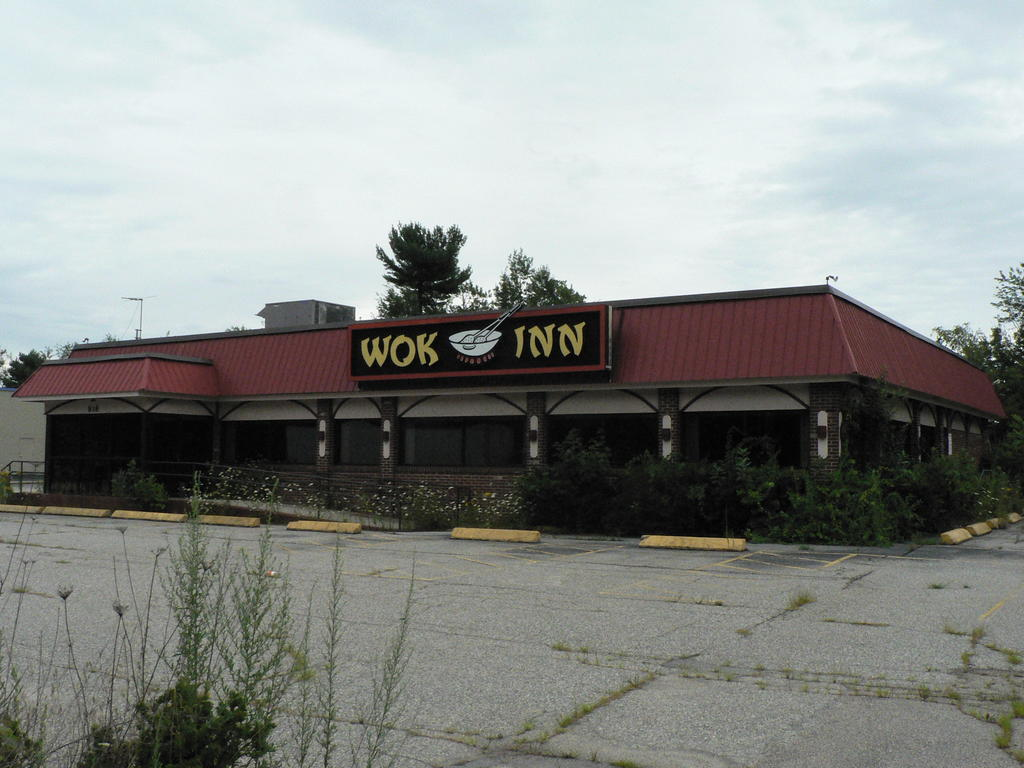 old wok inn could be new dunkin 39 donuts keep me current. Black Bedroom Furniture Sets. Home Design Ideas