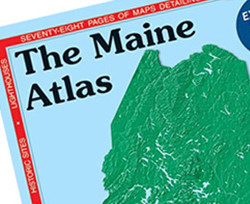 The Maine Atlas and Gazetteer was an indispensable resource for Maine hikers and travelers – especially in the years before consumer GPS devices.
