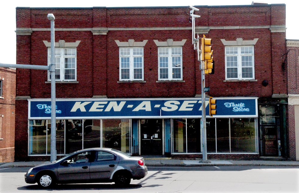 The Ken-A-Set building at 1 College Ave. in downtown Waterville was recently bought by a Massachusetts businessman who plans to turn it into a microbrewery, pub and nightclub.