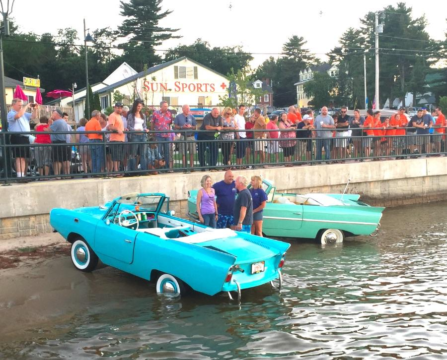 By Land Or By Lake Amphicars Star In Naples Show Keep Me Current - Naples antique car show 2018