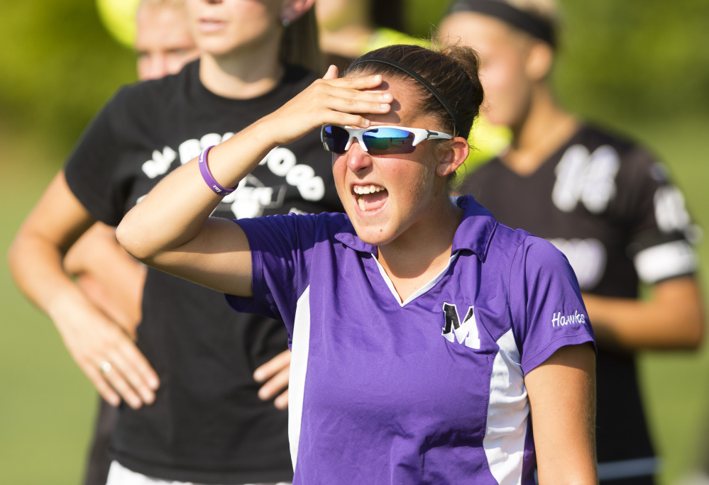 Chelsea Watson made a tremendous impact last year in her first season as Marshwood's coach, directing the Hawks to the Class A South final.