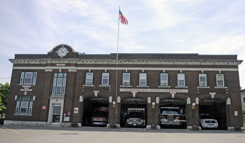 Hartford Station in Augusta, shown in this 2014, needs repairs and an expansion to meet modern firefighting needs, city officials have said.