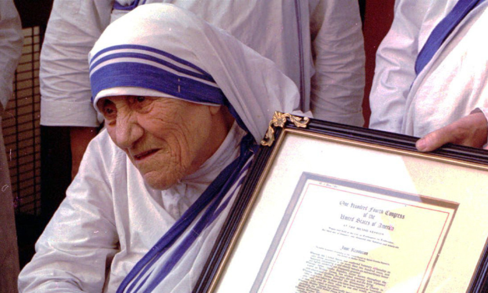 Mother Teresa was declared a saint by Pope Francis on Sunday in front of a crowd of 120,000 in Vatican City.