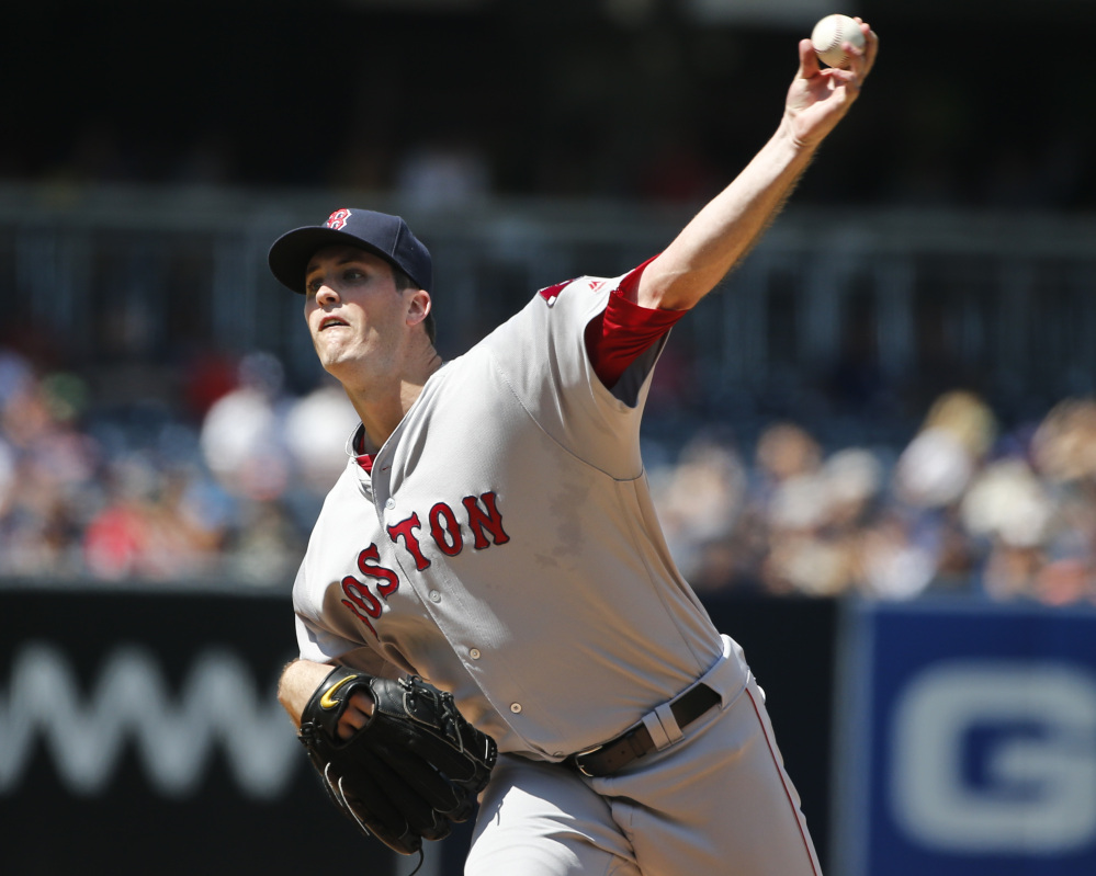 Boston Red Sox starter Drew Pomeranz pitched well but got no run support. A two-run home run by Adam Rosales cost him the game.