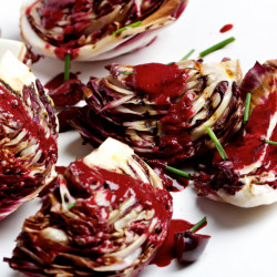 This radicchio salad is as tasty and healthful as it is out of the ordinary.