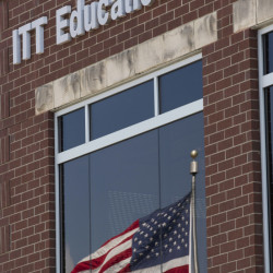 ITT Educational Services headquarters is shown in Carmel, Ind. The company is ending academic operations at all of its more than 130 campuses across 38 states.