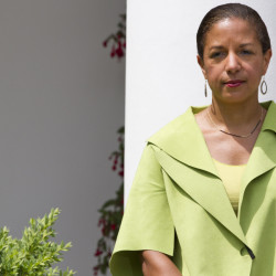 """National Security Adviser Susan E. Rice also served in other jobs in the Obama administration. She said in previous positions she sometimes had to push to get into key meetings. """"It's not pleasant to have to appeal to a man"""" to be included, she said."""