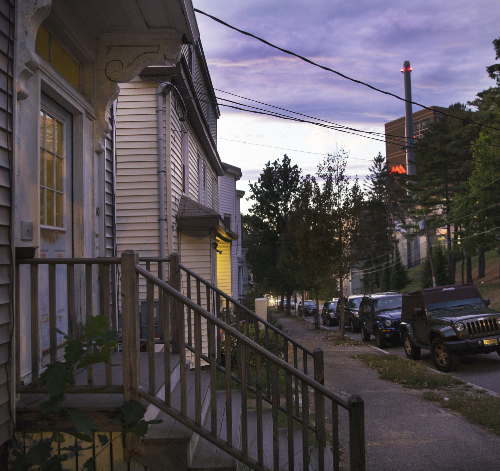 A proposed 13-story parking garage overlooking Gilman Street could be a bone of contention with neighbors, community leaders said. Because Maine Medical Center borders four different neighborhoods, some opposition is expected.