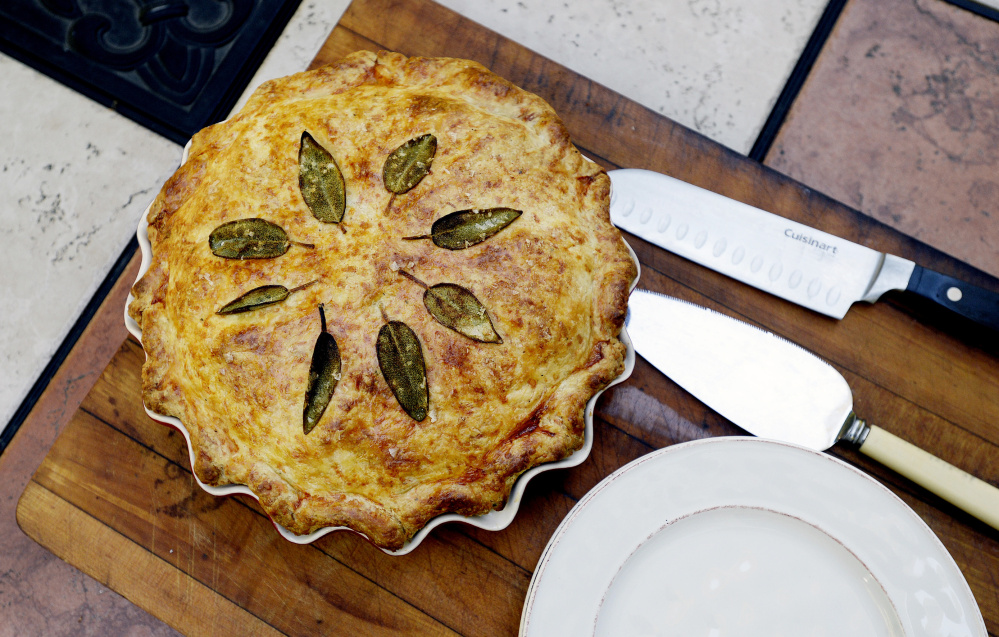 Shawn Patrick Ouellette/Staff Photographer Pork and Apple Pie