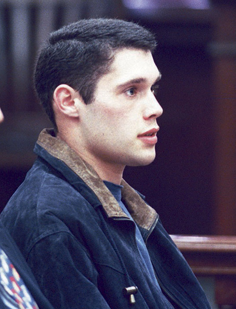 Bryan Carrier appears in court in 1996. He has lost two previous appeals to have his driver's license reinstated.
