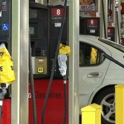 A QuikTrip station in Duluth, Ga., is one of many that ran out of unleaded gasoline Monday. Gas shortages also caused prices to spike after the Sept. 9 shutdown of a leaking underground pipeline that runs from Mississippi to Atlanta.