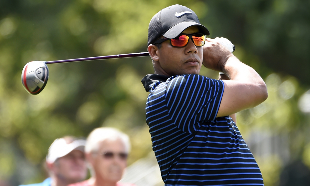 Jhonattan Vegas has a virtually impossible chance to win the $10 million FedEx Cup bonus this weekend, but that's not the point. He's competing after starting the year just hoping to find PGA tournaments to play.