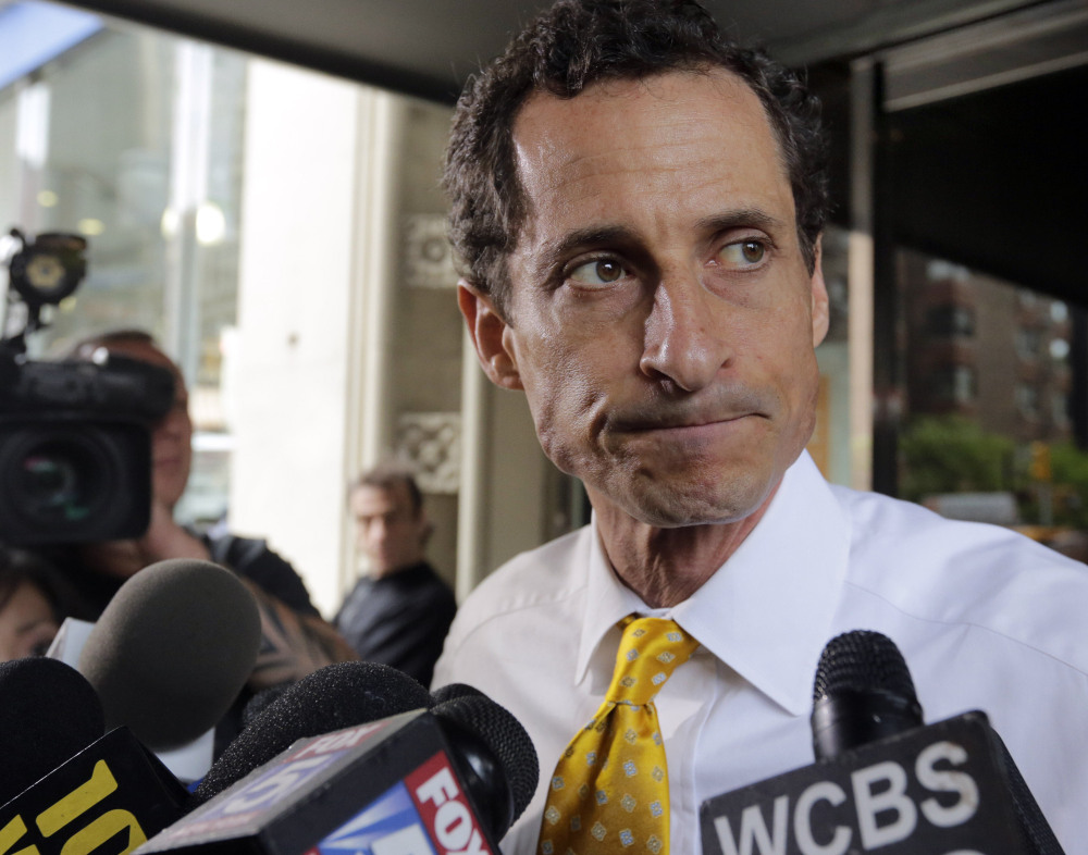 Former congressman Anthony Weiner is under investigation by authorities in New York and North Carolina, officials said Thursday.