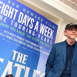 "Ron Howard attends the screening for new documentary, ""The Beatles: Eight Days a Week – The Touring Years,"" at the Picture House Central cinema on Aug. 9 in London. (Ian West/PA Wire/Zuma Press/TNS)"