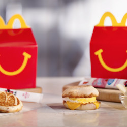 McDonald's is considering another addition to its all-day breakfast menu: Happy Meals with either two McGriddles cakes or an egg and cheese McMuffin. The fast-food chain says it will begin testing breakfast Happy Meals in Tulsa, Oklahoma, on Monday.