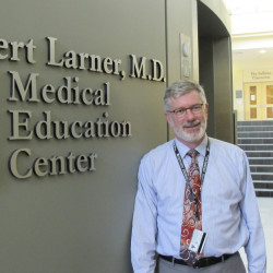 "University of Vermont medical school Associate Dean William Jeffries says students taught with traditional lectures are 1.5 times more likely to fail than those taught with active learning. ""If this was a clinical trial of a new drug or a treatment, we would adopt it,"" he said."