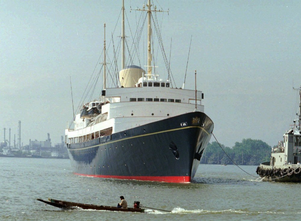 Retired in 1997 and now a tourist attraction in Edinburgh, the Britannia could be sailing the seven seas again if Britain recommissions the vessel, as some have proposed.