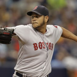 Red Sox starter Eduardo Rodriguez struck out 13 in 5  innings of work. The Red Sox bullpen tacked on 10 more strike outs and Boston scored in the 10th inning to beat Tampa Bay 3-2 for its 11th straight victory on Sunday in St. Petersburg, Fla.