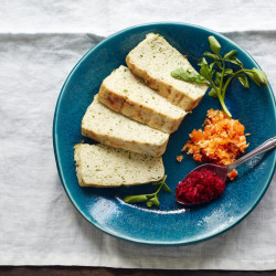 "Herbed gefilte fish baked in a terrine is among the new twists on traditional foods in ""The Gefilte Manifesto."""