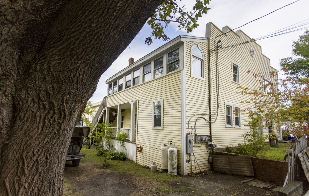 This property at 2 Island Ave. is the planned site of as many as 14 condominiums on Peaks Island. The building held a bowling alley until the 1920s.