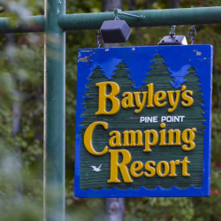 "Bayley's Camping Resort was accused of violating the Clean Water Act by filling wetlands and other waterways over 30 years. The owners' lawyer says the Bayleys settled the federal case ""without any admission of liability."""