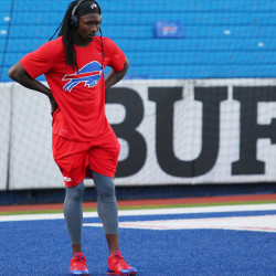 Bills wide receiver Sammy Watkins reinjured his surgically repaired left foot last week and will miss at least eight weeks after being placed on injured reserve Friday.