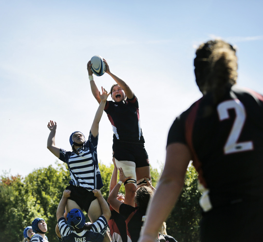 Women's Rugby On The Way Up At UNE