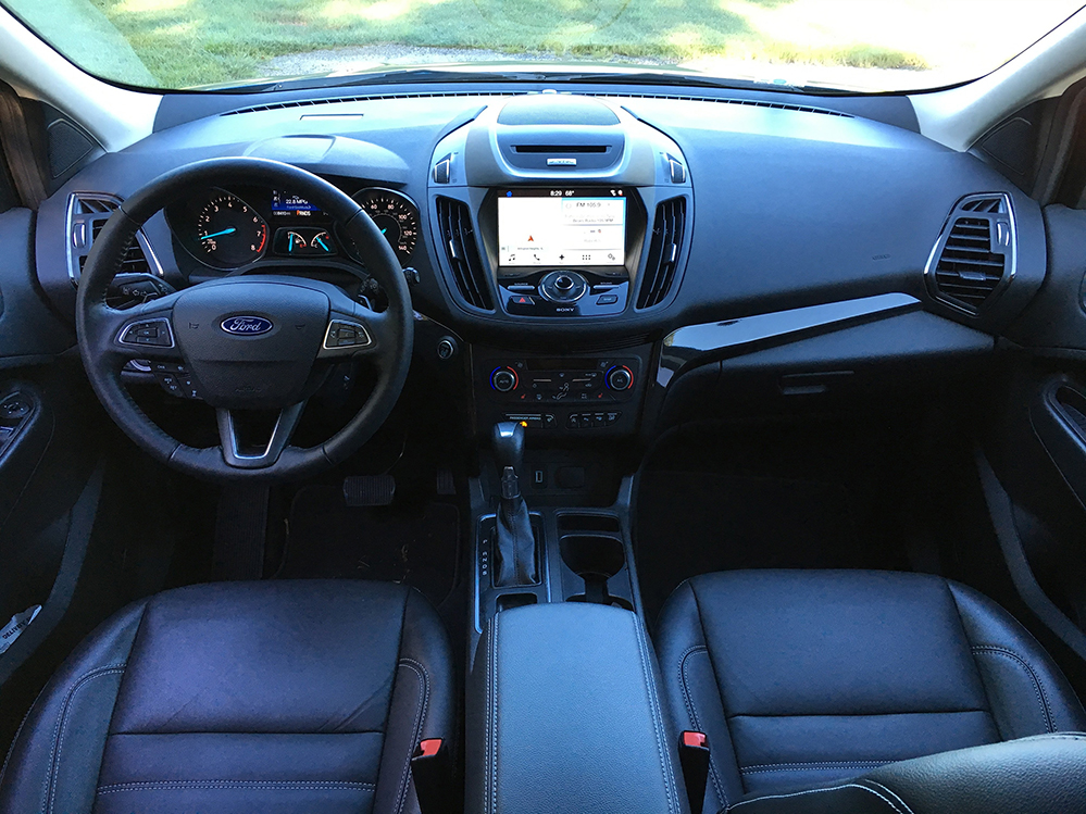 2017 ford escape better tech but less fuel economy portland press herald. Black Bedroom Furniture Sets. Home Design Ideas