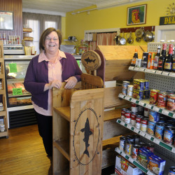 "Ruth LaChance runs Boynton's Market in Hallowell and says she's very concerned about the potential effect of retail development outside of downtown. ""Retail will kill us,"" she said. ""We are pretty clear that we don't need or want another coffee shop, another flower shop or another restaurant up there."""
