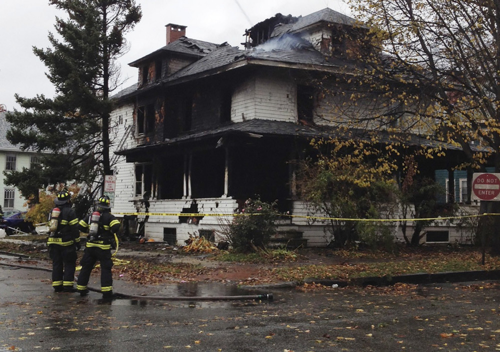 Gregory Nisbet is facing six counts of manslaughter stemming from a fire on Nov. 1, 2014, at 20-24 Noyes St. in Portland. Shawn Patrick Ouellette/Staff Photographer