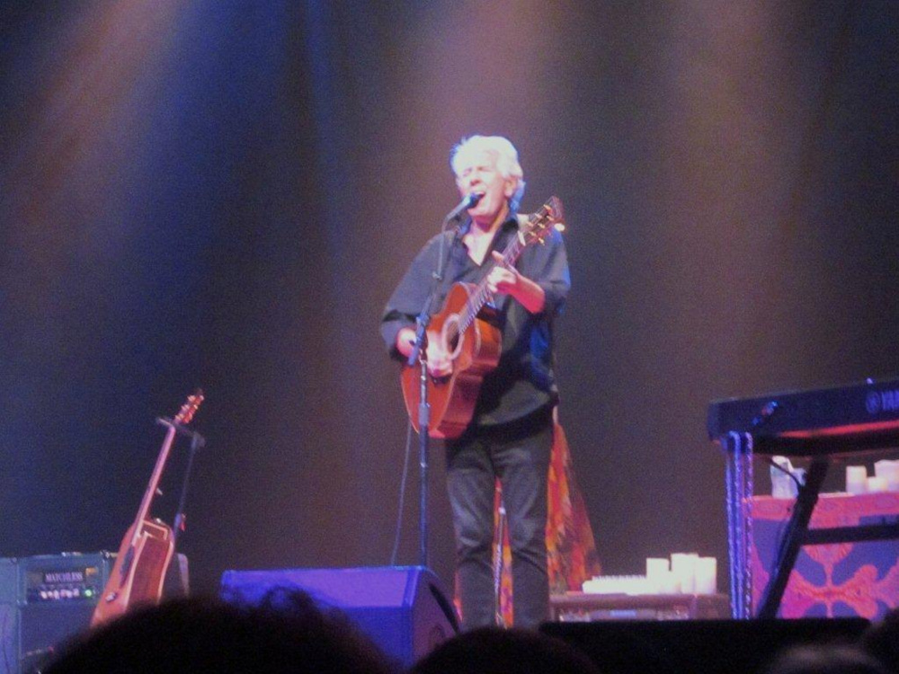 Review At State Theatre Graham Nash As Steady And Moving