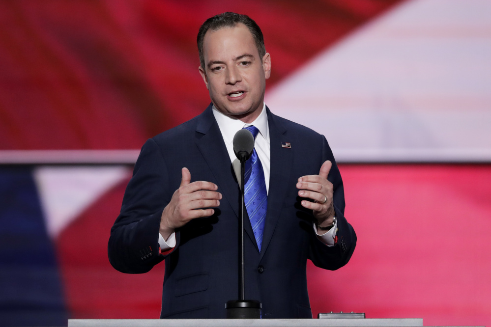 """""""No woman should ever be described in these terms or talked about in this manner. Ever,"""" said Republican National Committee Chairman Reince Priebus."""