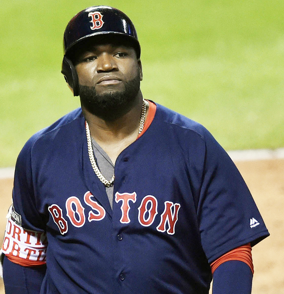 The retirement of David Ortiz, seen in last year's playoffs, left the Red Sox lacking leadership on and off the field.