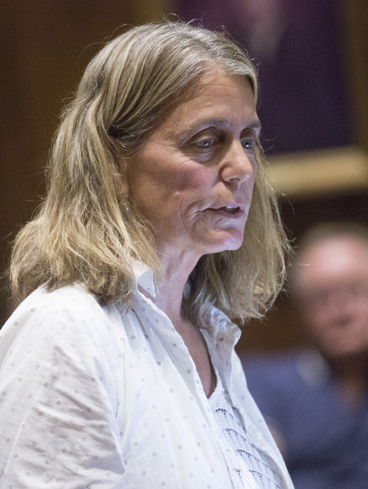 Paula Gerstenblatt told the Housing Committee on Thursday that the rental income she gets through Airbnb helps her supplement her salary as a professor at the University of Southern Maine.