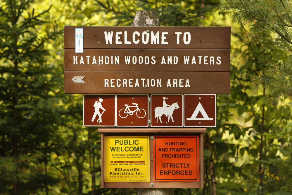 A new nonprofit group plans to work with the National Park Service as it manages Maine's Katahdin Woods and Waters National Monument.