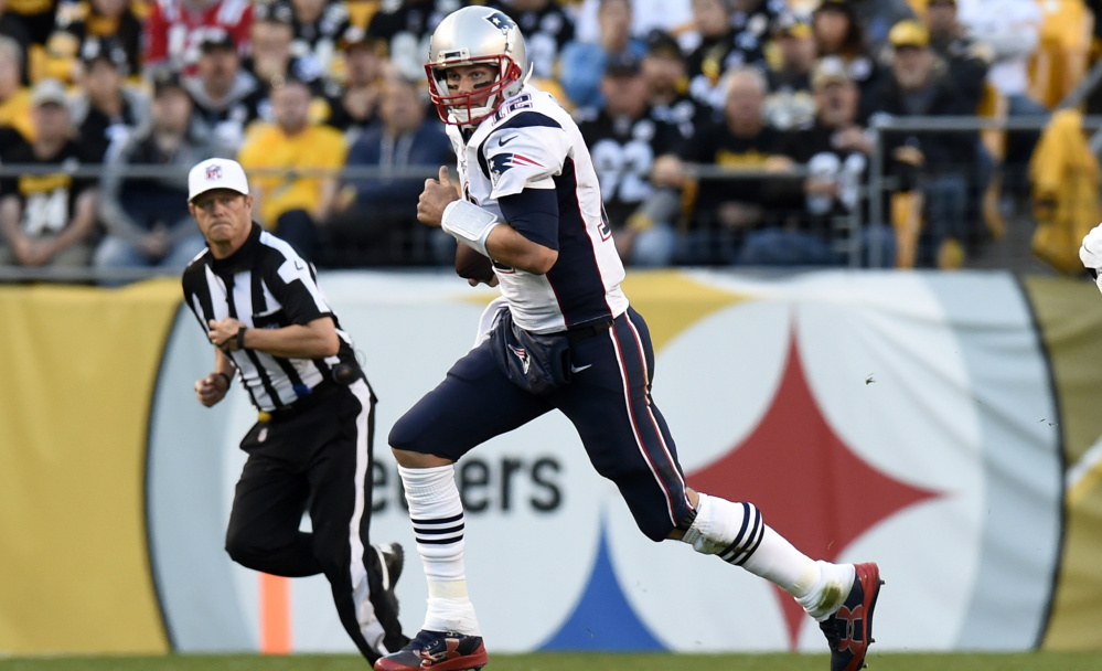 The New England Patriots went 3-1 during quarterback Tom Brady's four-game suspension for Deflategate. The loss was a home shutout against Buffalo. Now comes the rematch, Sunday at Buffalo, and Brady won't miss it.