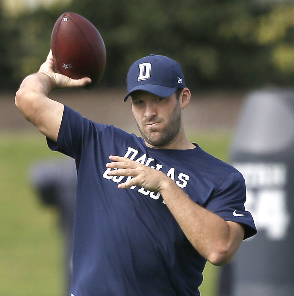 Cowboys quarterback Tony Romo is back at practice this week, but is returning to football in his long-term best interest?